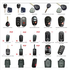 Remote Immobilizer Key & Transponder Key & Smart Key